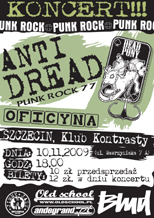 anti dread plakat