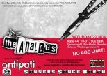 THE ANALOGS + ANTIPATI + SINNERS SINCE BIRTH