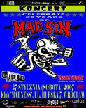 MAD SIN + THE ANALOGS + HARD WORK