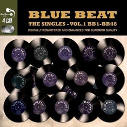 Blue Beat The Singles - Vol. 1 BB1 - BB48 (Remastered / 4 CD)