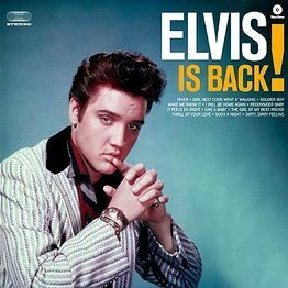 Elvis is Back! (LP czarny winyl, 180 g + Download)