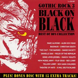 Gothic Rock 3 - Black On Black... Best of 80's Collection (2CD)