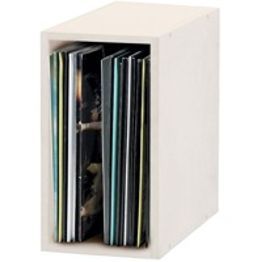 Szafka na winyle (Record Box 55, white)