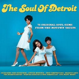 The Soul Of Detroit - 75 Original Soul Gems From The Motown Vaults (3 CD)