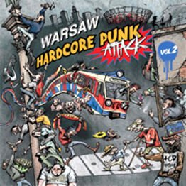 Warsaw Hardcore Punk Attack vol. 2 (LP + CD)