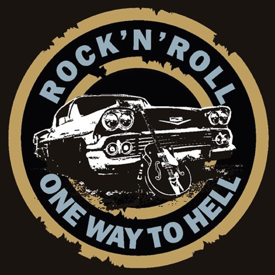 Rock'n'Roll One Way to Hell (bluza)