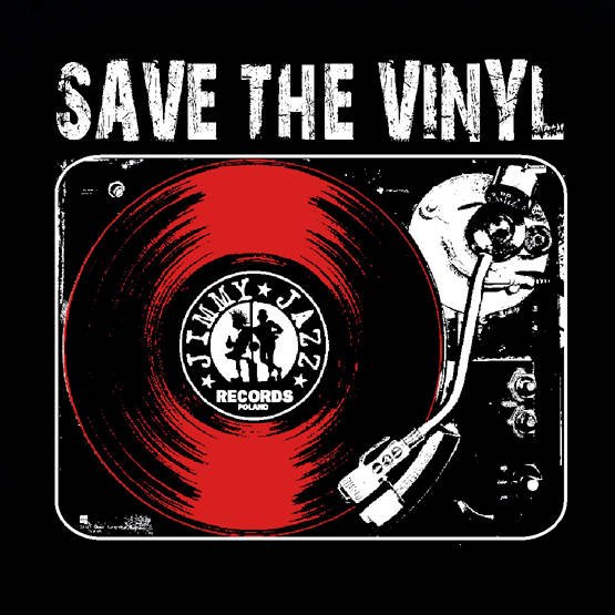 Save The Vinyl (męska)