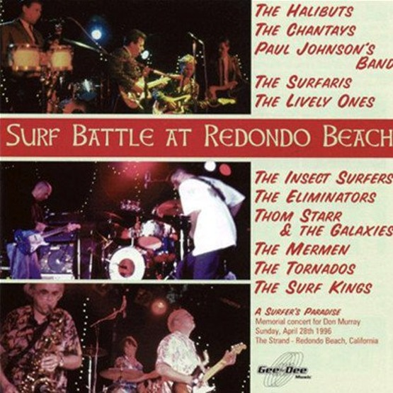Surf Battle At Redondo Beach