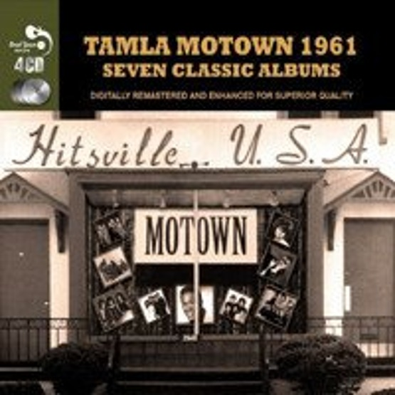 Tamla Motown 1961 - Seven Classic Albums (Remastered / 4 CD)