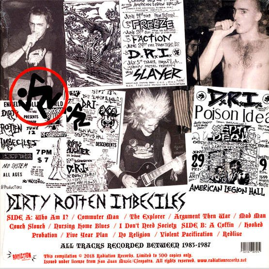 Violent Pacification And More Rotten Hits 1983-1987 (LP, czarny winyl)