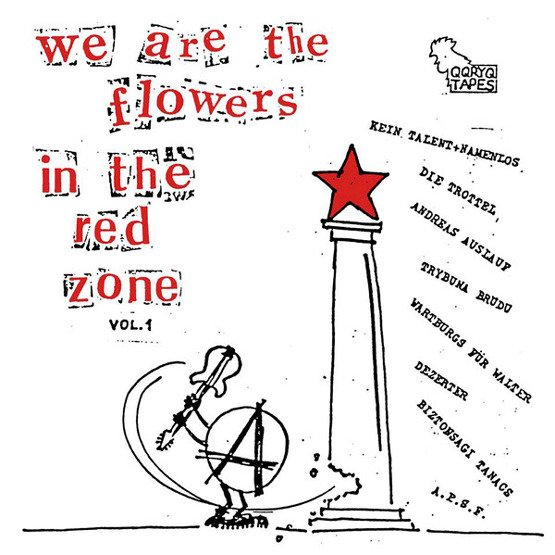 We Are The Flowers In The Red Zone vol. 1 (LP, czarny winyl)
